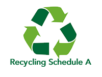 Recycling Schedule A