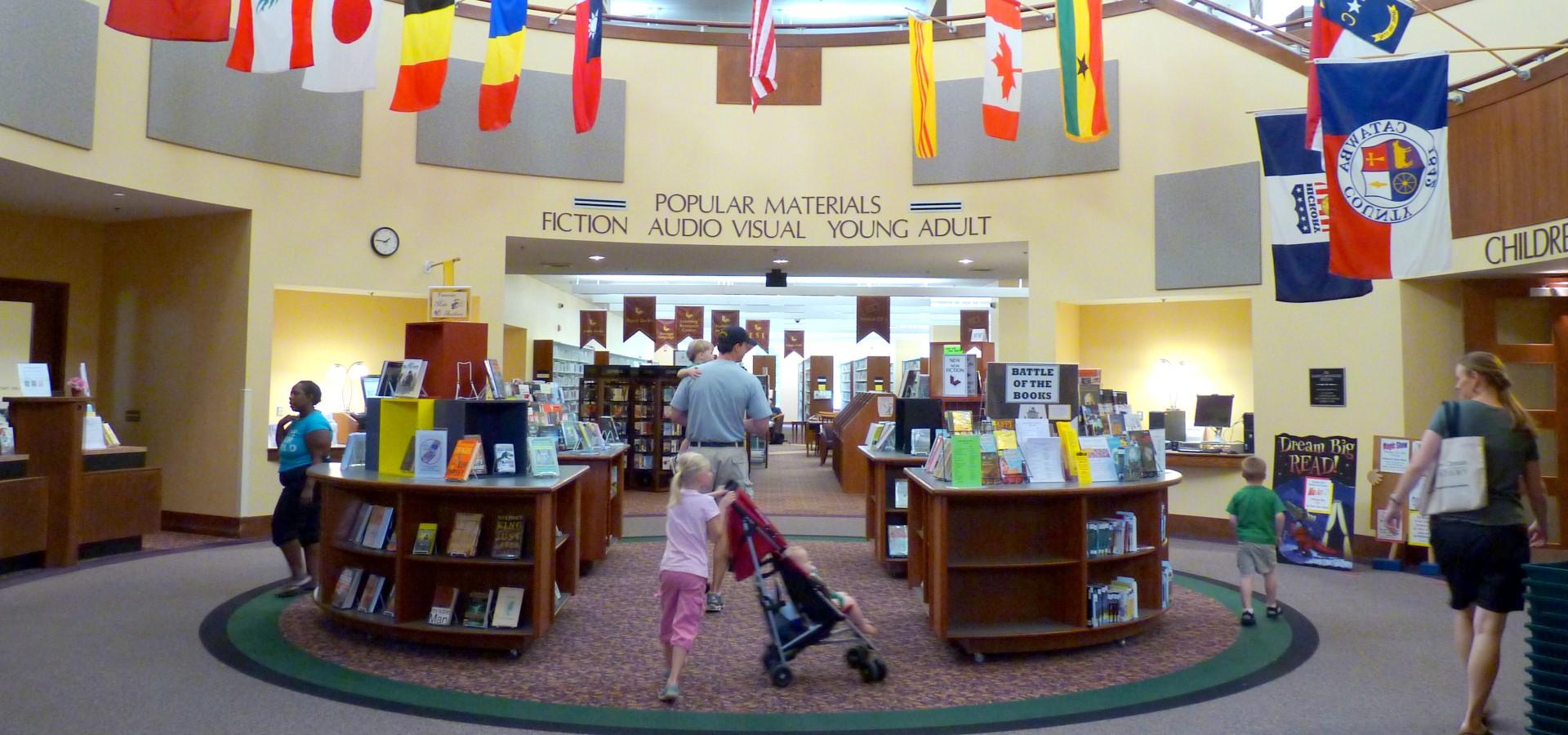 Hickory Public Library Atrium